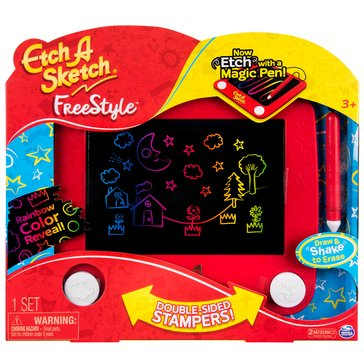 Etch-A-Sketch Freestyle