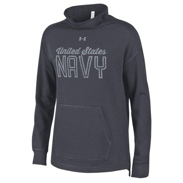 Under Armour Women's USN Triblend Fleece Funnel