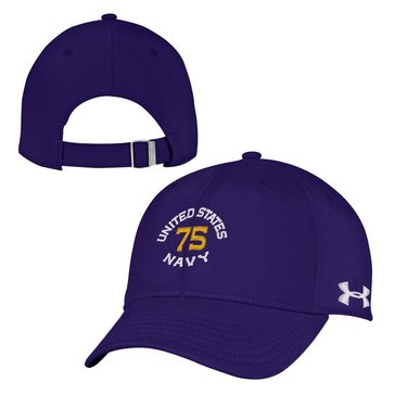 Under Armour Women's U.S.N 75 Circle Headline Renegade Adjustable Cap