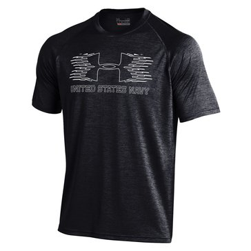 Under Armour Men's U.S.N Novelty Tech Short Sleeve Tee Shirt