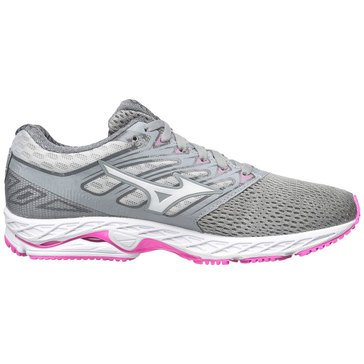 Mizuno Wave Shadow Women's Running Shoe - Griffin / White / Electric