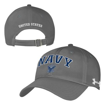 Under Armour Men's Navy Headline Renegade Adjustable Cap