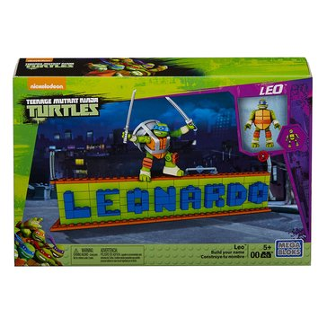Mega Construx Teenage Mutant Ninja Turtles Ninja Name Builder