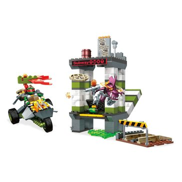 Mega Bloks Teenage Mutant Ninja Turtles Sewer Subway Chase