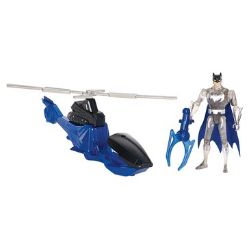 Justice League Action Batman and Batcopter