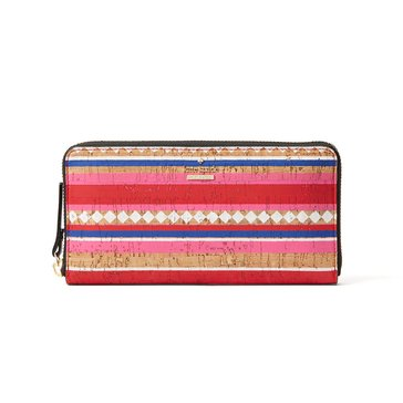 Kate Spade Campus Lane Money Piece Wallet Lacey Multi
