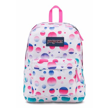 Jansport Super Break Backpack - Ombre Dot