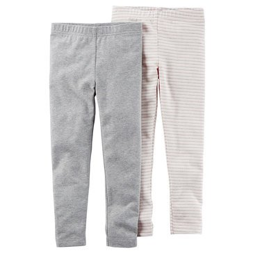 Carter's Toddler Girls' 2-Pack Leggings