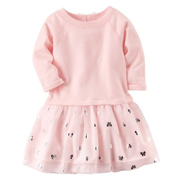 Carter's Toddler Girls' Tulle Dress, Light Pink