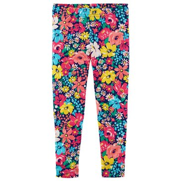 Carter's Toddler Girls' Flower Print Leggings