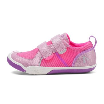 Plae Ty Low Girls Sneaker Pink/ Dewberry