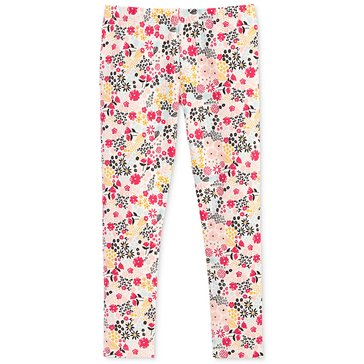 Epic Threads Little Girls' Woodland Floral Legging, Holiday Ivory