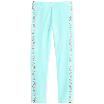 Epic Threads Little Girls' Floral Tuxedo Legging, Thick Glass