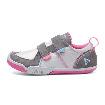 Plae TY Low  Girls Sneaker Silver/Pink