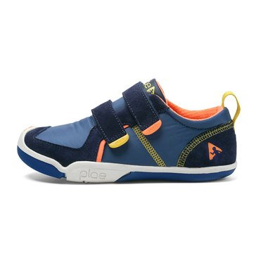 Plae TY Low Boys Sneaker Denim Navy