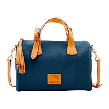 Web Exclusive Dooney & Bourke Patterson Kendra Satchel Midnight Blue