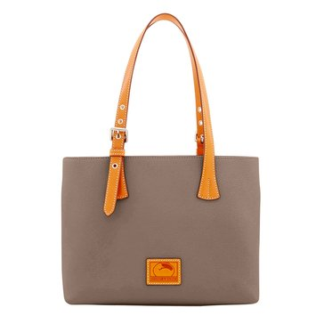 Web Exclusive! Dooney & Bourke Patterson Small Hanna Shoulder Bag Taupe
