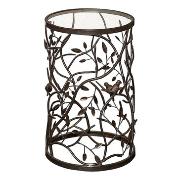 Linon Bird and Branch Accent Table
