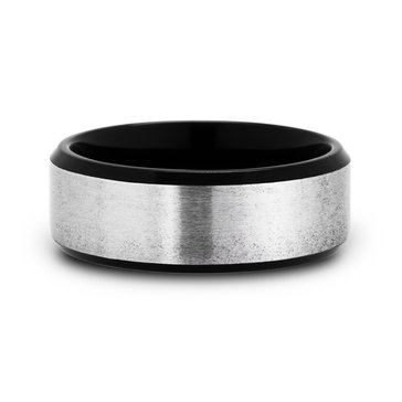 Men's 8mm Titanium Wedding Band