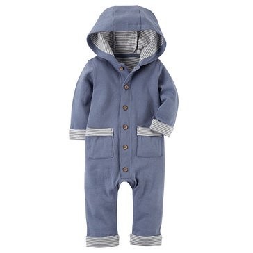 Carter's Baby Boys' Hooded Jumpsuit