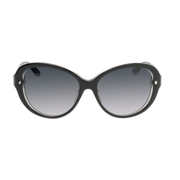 Dior Women's Pondichery Cat Eye Sunglasses XLS/HD, Black 55mm