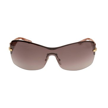 Dior Women's My Lady Dior Wrap Sunglasses L7D/JD, Rose Gold/ Nude