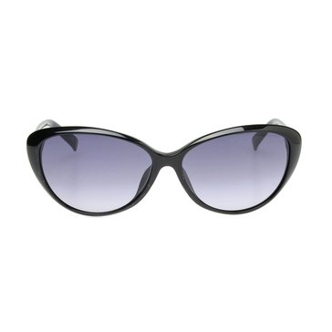 Dior Women's Piccadilly Cat Eye Sunglasses 29A/JJ, Black 58 mm