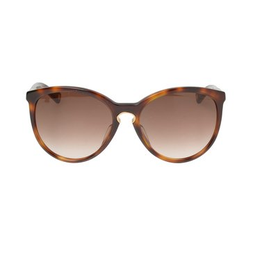 Dior Women's Entracte Cat Eye Sunglasses 1FS/JD, Havana Brown 57mm