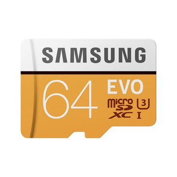 Samsung MB-MP64GA/AM-Memory Card Reads 48MB/S Up To 100MB/S-(MB-MP64GA/AM)