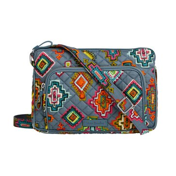 Vera Bradley Little Hipster Iconic Crossbody Painted Medallions
