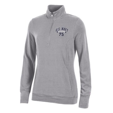 Champion Women's U.S.N 75 University Lounge Quarter Zip