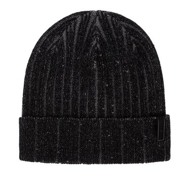 Calvin Klein Two Tone Ribbed Cap - Black