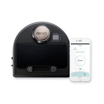 Neato Botvac DC00 Connected Wi-Fi Robot Vacuum, Black (945-0177)