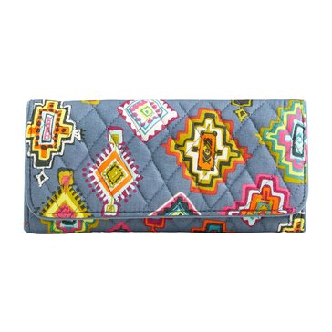 Vera Bradley Trifold Wallet Painted Medallions