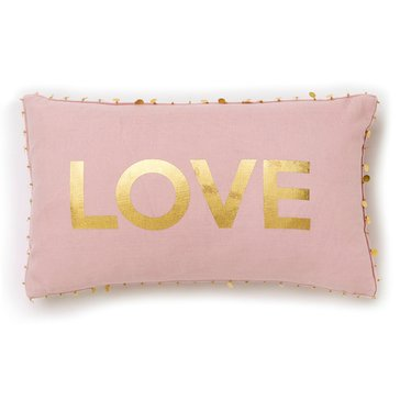 Thro Rose Love Medallions 12 x 20 Pillow