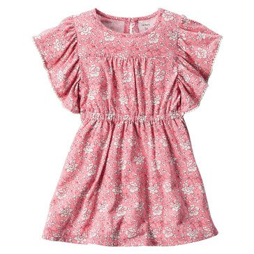Carter's Little Girls' Print Knit Dress