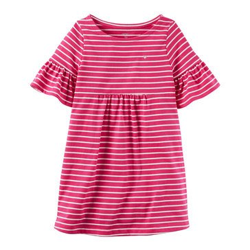 Carter's Little Girls' Stripe Knit Dress