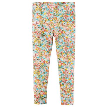 Carter's Little Girls' Ditsy Print Leggings