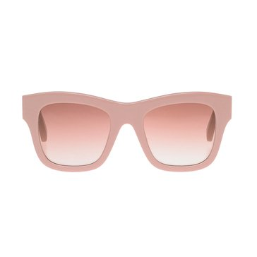 Stella McCartney Women's Sunglasses SC0011S, Pink/ Brown Gradient 49mm