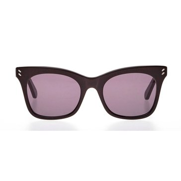 Stella McCartney Women's Sunglasses SC0025S, Black/ Grey Gradient 52mm