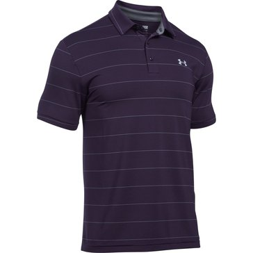 Under Armour Men's Playoff Polo - Gooseberry Purple / Steel