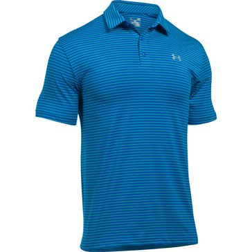 Under Armour Men's Playoff Polo - Blue Marker / Steel