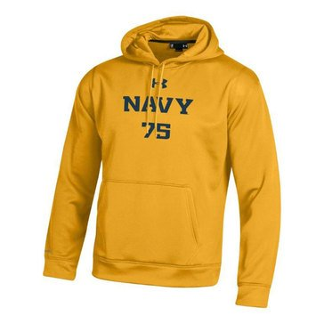 Under Armour Men's USN 75 Armour Fleece Hoodie