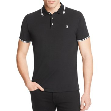 Polo Ralph Lauren Custom Slim Fit Mesh Polo