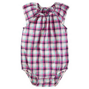 OshKosh Baby Girls' Flutter Bodysuit