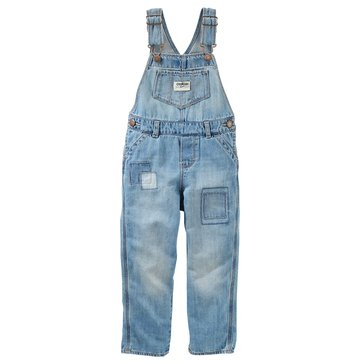 OshKosh Baby Girls' Patched Overalls