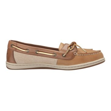 Sperry Top-Sider Barrelfish Women's Boat Shoe Linen/ Oat