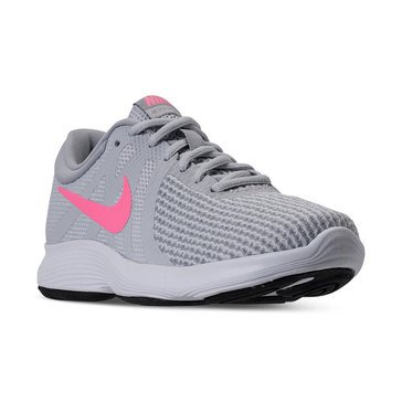 Nike Revolution 4 Women's Running Shoe - PurePlatinum / Sunset Pulse / Wolf Grey / Black / White
