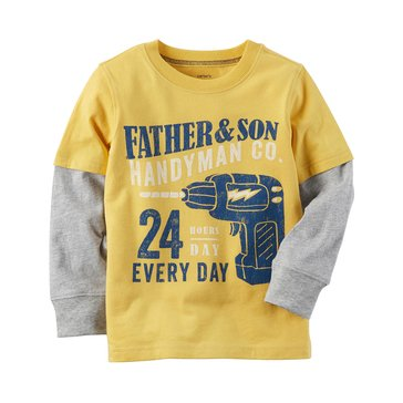 Carter's Baby Boys' Long-Sleeve Tee