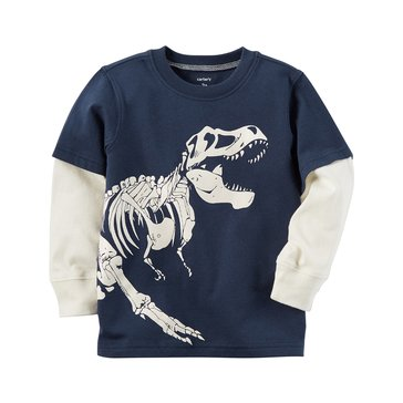 Carter's Baby Boys' Long-Sleeve Tee, Dino